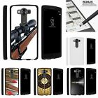 For LG V10| LG G4 Pro| Slim Fit Hard 2 Piece Case Guns