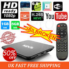 MXQ M8S S905X Quad Core Android 4.4 Media Player TV Box Free Sports Lives Shows