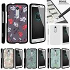 For Droid Turbo 2| Kinzie| X-Force| Slim Fit Hard 2 Piece Case Elegant Flowers