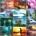 5D DIY Full Drill Home To Cottage Diamond Wall Stickers Painting Home Decor Kits