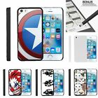 For iPhone SE| iPhone 5| iPhone 5s| Slim Fit Hard 2 Piece Case America Shield