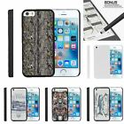 For Apple iPhone SE| iPhone 5| iPhone 5s| Slim Fit Hard 2 Piece Case Fishing