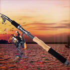 Fishing Combos Set Telescopic Spinning Fishing Tackle Saltwater Rod and Reel Kit