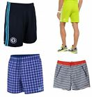 Adidas Mens Stripe Pull Cord Waist Casual Summer Work Gym Training Top Shorts
