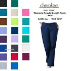 Cherokee Workwear Regular Womens Nurse Scrub Pants. Style 4101. *NEW* Free Ship