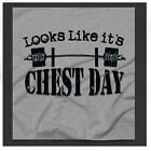 Chest Day Powerlifting Crossfit Benchpress workout training Grey Tee
