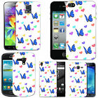 Motif case cover for Mobile Phones - blue moth love