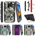 For Samsung Galaxy S7 Active G891A Holster Clip Stand Case Swamp Camouflage
