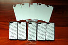 5 Wholesale iPhone 4/4S iphone 5/5S Cases Blanks Blank Sublimation  Black/ White