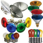 Coloured Light Bulbs Lamps For DJ lighting 80w E27 25w BC 60W R080 Screw Bayonet