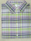 Womens Check Blouse Cotton Lime Check Short Sleeve  Sizes 16 20 22 24 28 30 New