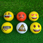 Official Emoji Golf Balls - Poop Laughing Heart Yellow Novelty Gift Wholesale