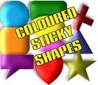 15mm SELF ADHESIVE STICKY LABEL COLOUR CODE DOTS & SHAPES FOR PLANNERS & DIARIES