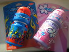 KidZamo childs cycle / bike water bottle + cage choice of boys blue or girl pink