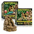 Exo Terra Reptile Pebble Waterfall &Pump Create Humidity Amphibians Frogs Lizard