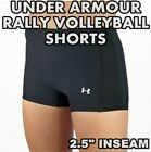 """Under Armour Women's-2.5"""" Spandex Volleyball Court Shorts, Size XL 1001128 NEW!"""