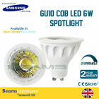 GU10 Samsung LED CHIP 6W 120⁰ COB LED Cool/Warm White Lamp bulb Downlight 6W=50W