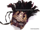 Mens Masquerade Mask Thor Mask Feather Roman Gladiator Bachelor Mardi Gras Party