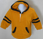 Gymboree Boy's Ahoy Matey Yellow Hooded Shirt Size 3-6 Months
