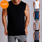 New 5PACK Macri Mens MUSCLE COTTON Lifting Gym Training Singlet Stringer Tank