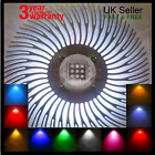 10W 12V LED Chip Heatsink with Lens Power Supply Driver Hydroponic grow light