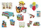 Premium Paw Patrol Birthday Party Tableware & Decorations - BIG SELECTION