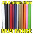 SPECIAL OFFER roll 3D CARBON FIBRE EFFECT VINYL car wrap roof bonnet tr