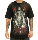3 ROSES Black T Shirt for Men by Sullen Clothing