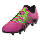 adidas Men's X 15.1 FG/AG Shock Pink/Solar Green/Black S74597
