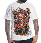 Ink Grown Sullen Men's White T-Shirt