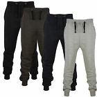 MENS SKINNY JOGGERS JOGGING BOTTOMS SLIM FIT FLEECE TRACKSUIT PANTS GYM SWEATS