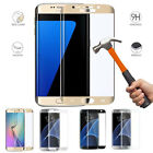 Full Curved Tempered Glass Screen Protector  Case For Samsung GALAXY S7 S6 Edge