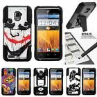 For ZTE Rapido LTE| Hybrid Hard Bumper Stand Case Joker