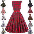 Women's Vintage Style 40s 50s Retro Swing TEA Dress Party Evening Prom Cocktail