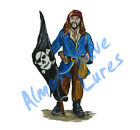 Pirate Flag Ship Nautical Black Pearl Decal Sticker - Car Truck RV Boat Tablet