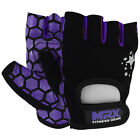 Women Weight Lifting Gloves Crossfit Ladies Fitness Glove Gym workout Purple/BLK