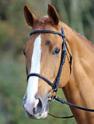Shires Aviemore Bridle with Raised Cavesson Noseband + Rubber reins ALL SIZES