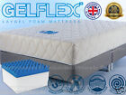 Latex Gel LayGel Memory Mattress 2ft 3ft 4ft 4ft6 5ft 6 SINGLE DOUBLE KING SMALL