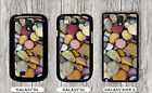 COLORED BEACH PEBBLES STONES CASE FOR SAMSUNG GALAXY S3 S4 NOTE 3 -ubn8Z