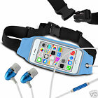 For alcatel One Touch Idol Ult Running Fitness Sports Waistband Case & Handsfree