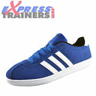 Adidas VLNeo Court Mens Casual Classic Trainers Blue