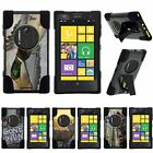For Nokia Lumia Elvis| Nokia EOS| Hybrid Hard Bumper Stand Case Hunting