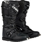 2017 O'Neal Rider Black Motocross Off-Road MX Dirtbike ATV Riding Boots