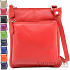 Ladies / Womens Premium 100% Leather Cross Body / Shoulder Bag