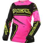 2017 O'Neal Pink Motocross MX Dirtbike MTB BMX Off-Road Riding Gear Jersey