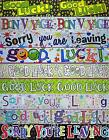 GOOD LUCK BANNERS - SORRY YOU'RE LEAVING BANNERS - BON VOYAGE BANNERS