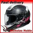 SHOEI NXR SEDUCTION TC7 Gloss Black Grey Pink FULL FACE PINLOCK MOTORBIKE HELMET