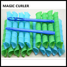 DIY Hair Styling Circle Rollers Magic Spiral Ringlets Curlers Wave