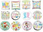 """Boy Girl Neutral Baby Shower Party Decoration Assorted 18"""" Foil Balloon"""