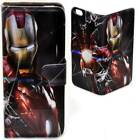 For Huawei Series - Marvel Comic Superhero Print Flip Case Mobile Phone Cover